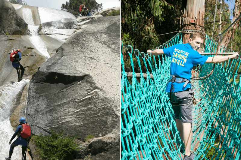 Pack canyoning & accrobranche