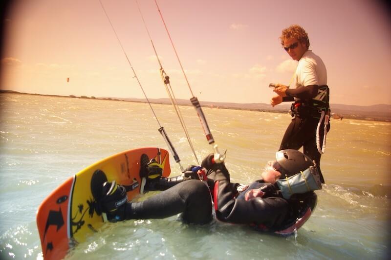 Stage kitesurf leucate
