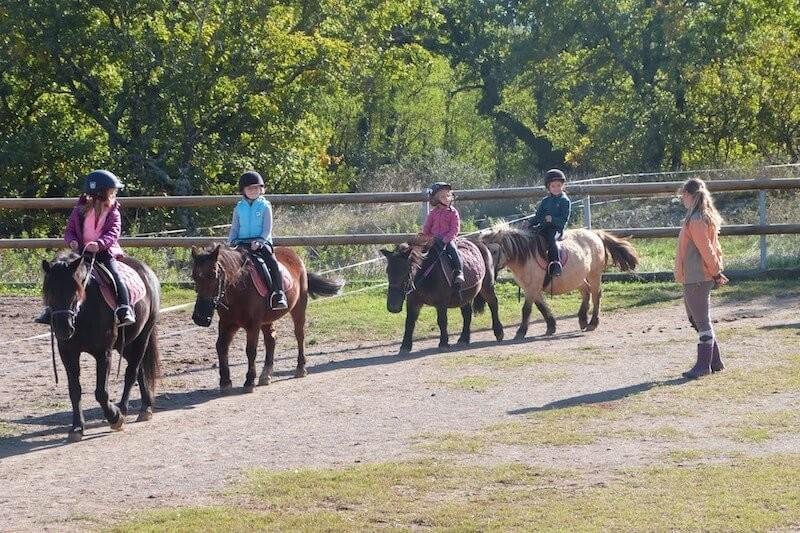 Cours d'équitation en ardèche