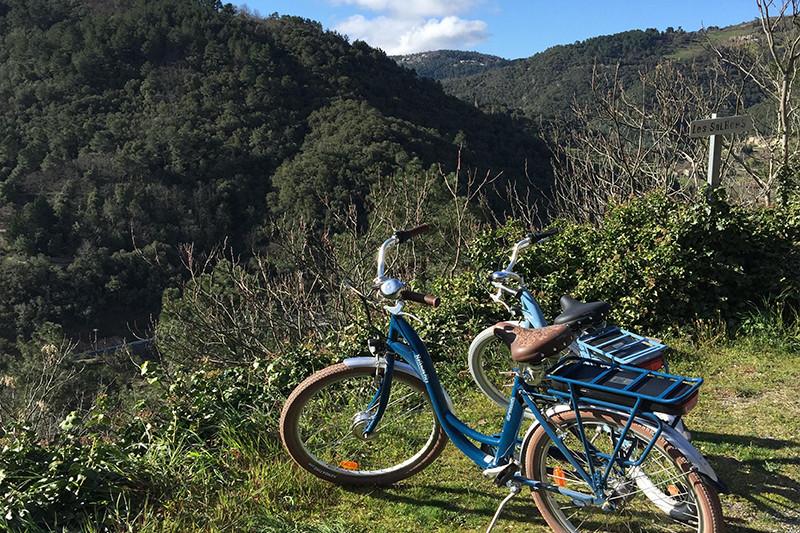 Balade à vélo sur la dolce via