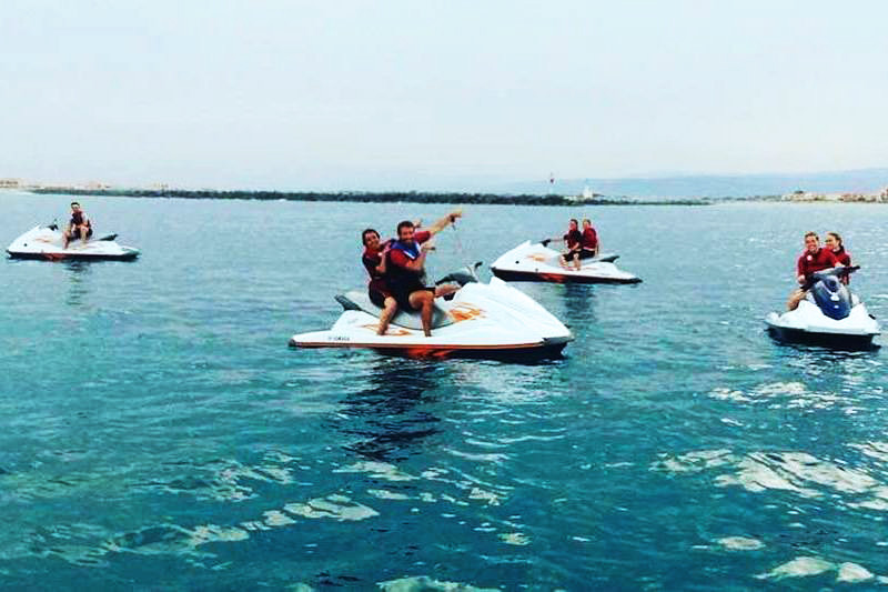 initiation au jet ski à Port leucate - 35 min