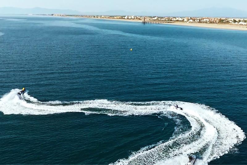 Randonnée en jet ski - port la nouvelle -  1h05