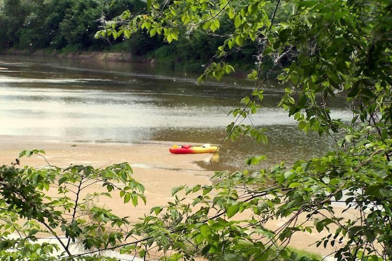Descente en canoë kayak depuis les ponts de cé- 30km