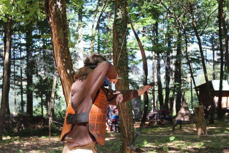 Archery tag à Jaujac