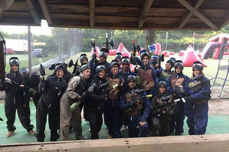 Paintball Adulte vers Angers