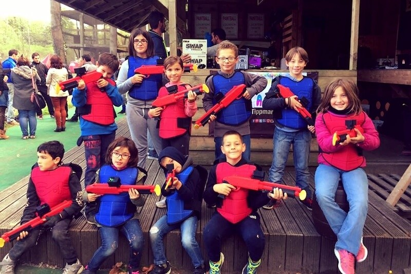 Paintball Enfant vers Angers