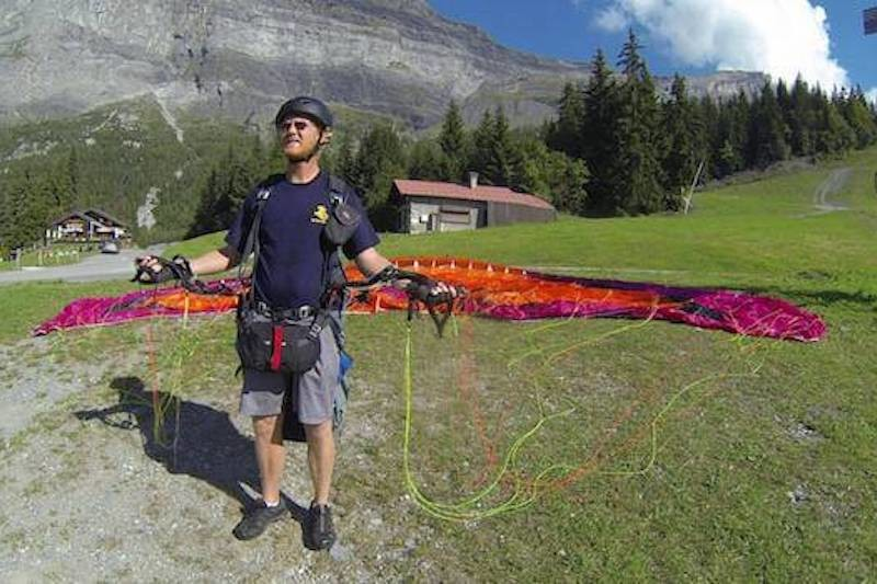 Stage initiation parapente - passy - sallanches