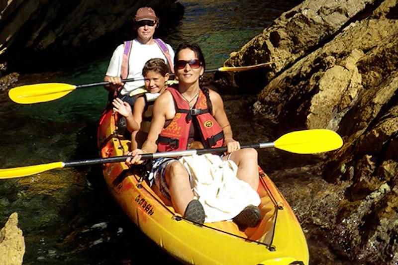 Location Kayak sur la Côte Bleue