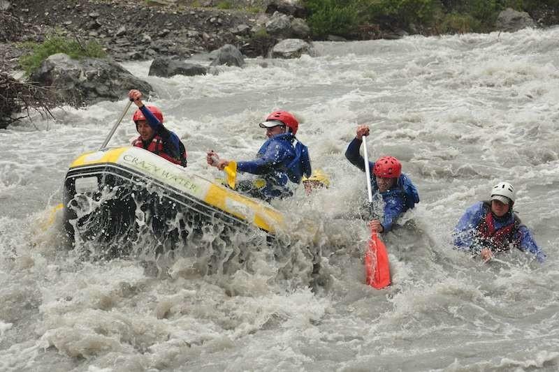Rafting descente sportive de l'ubaye