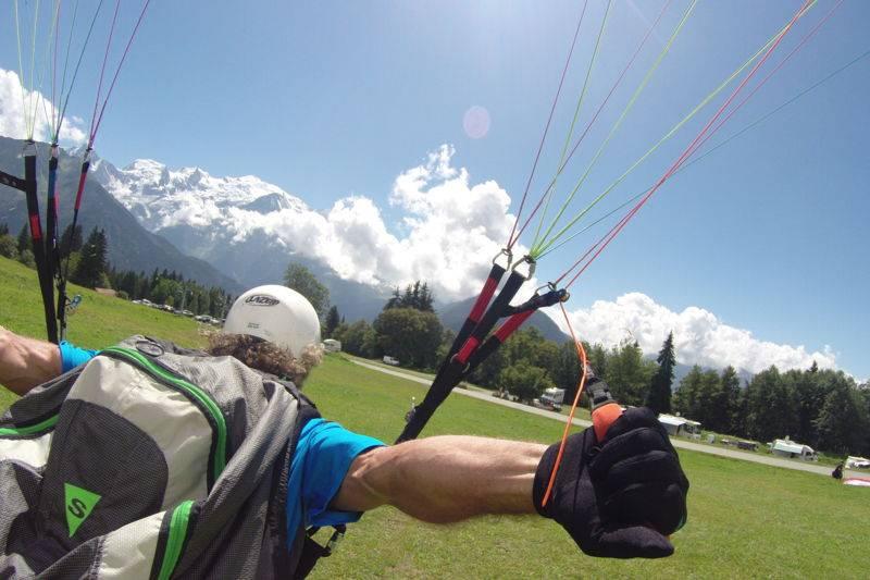 Paragliding course discovery Saint gervais