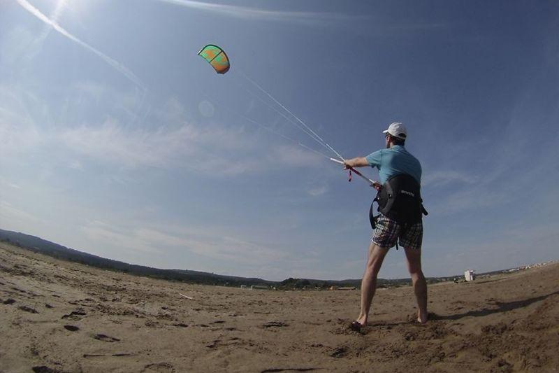 Découverte du kitesurf à Narbonne plage