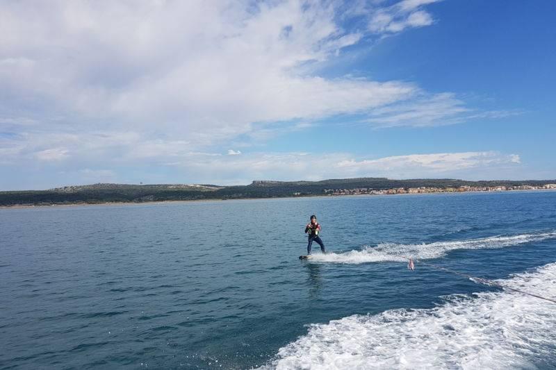 Simulateur de kitesurf - Wakeboard à Narbonne plage