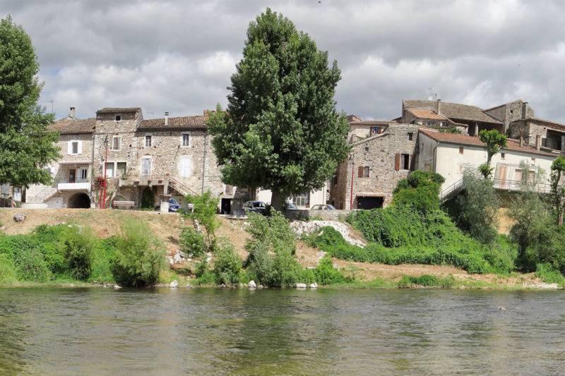 Mini descente de l'Ardèche de VOGUE à St Maurice