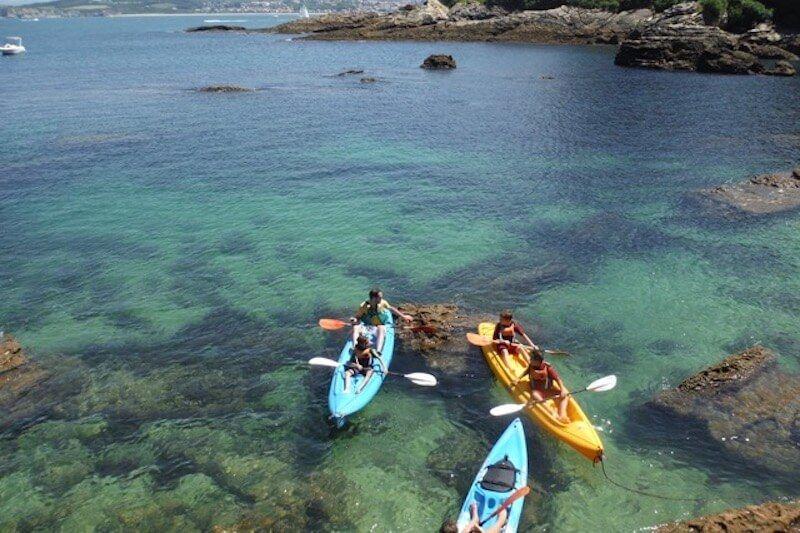 Balade en kayak au cap du figuier