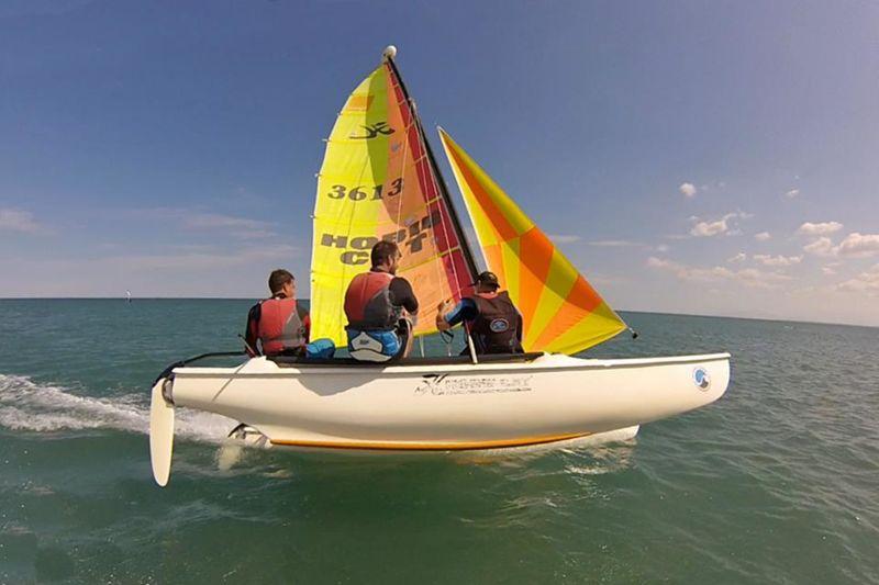 Coaching catamaran ados & adultes : Tous niveaux