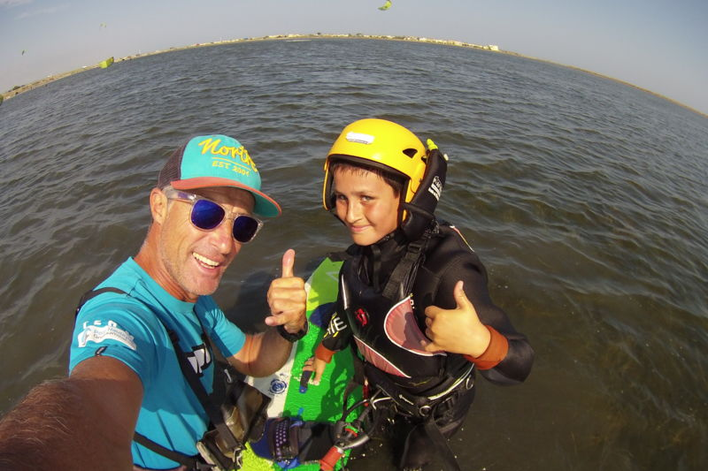 Cours particuliers kitesurf : Adultes
