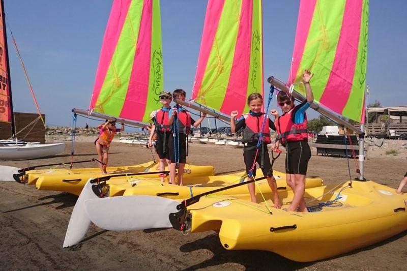 Stage collectif enfants en funboat : Débutant / Intermédiaire
