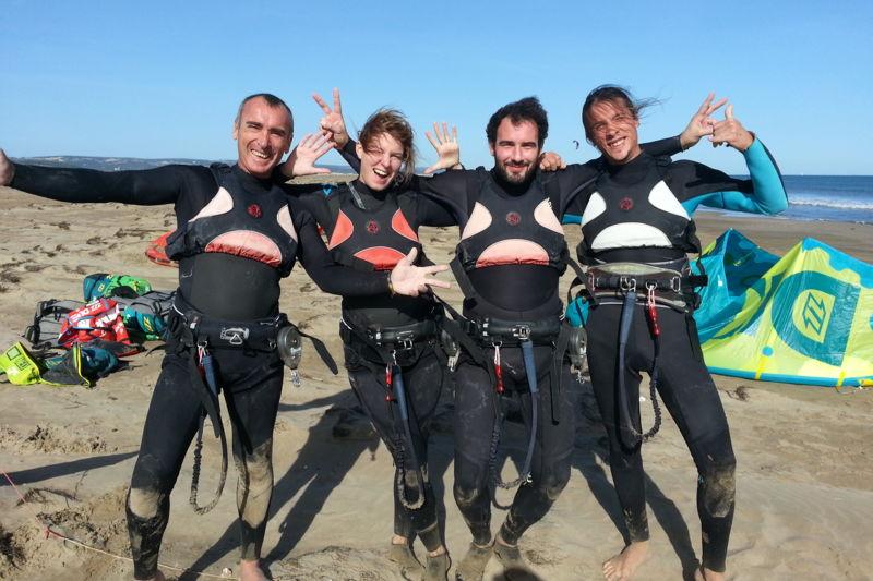 Stage collectif kitesurf : Débutant / Intermédiaire
