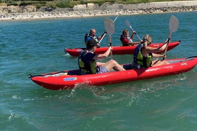 Balade canoë en mer à La Rochelle avec moniteur