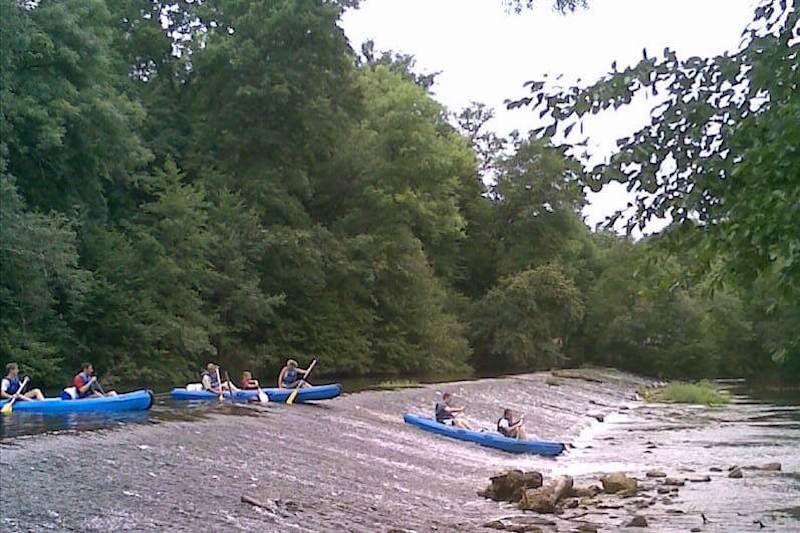 Mini rando en canoë depuis Valeuil - 2h