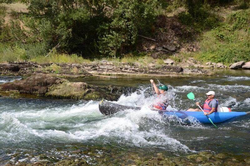 Descente évasion en canoë sur le Tarn  - 4h