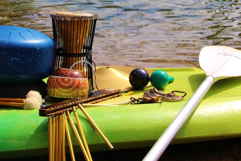 Balade sur la rivière & Escale musicale