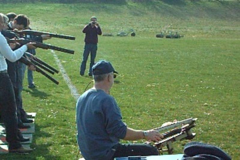 Ball Trap Laser, tir de précision