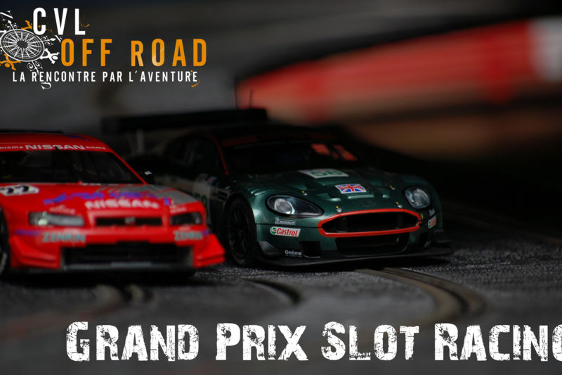 Grand Prix Slot Racing, courses miniatures