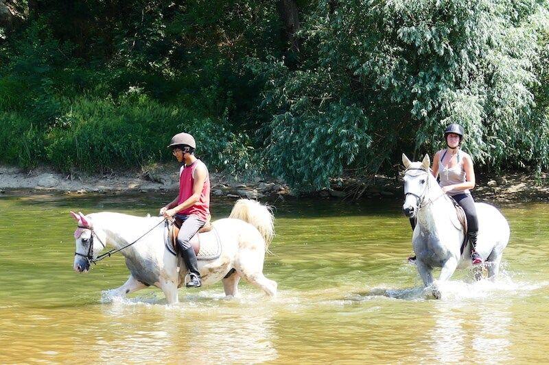 Horse riding in Ardeche