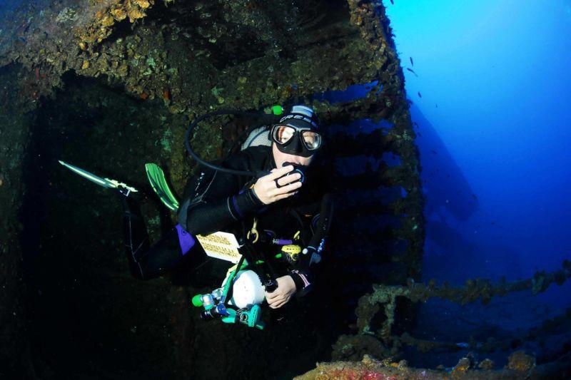 Formation plongée au Nitrox confirmé à Sainte-Maxime