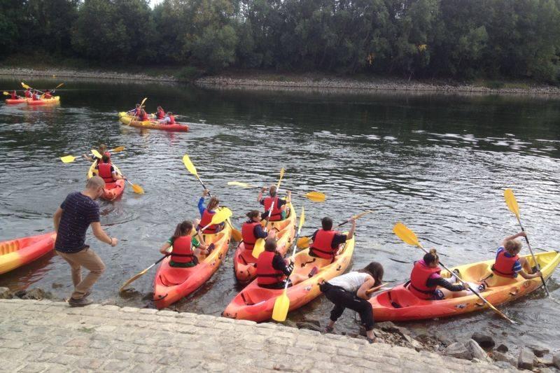 Descente en Canoë Kayak depuis les Ponts de Cé ou Murs Erigne- 30km