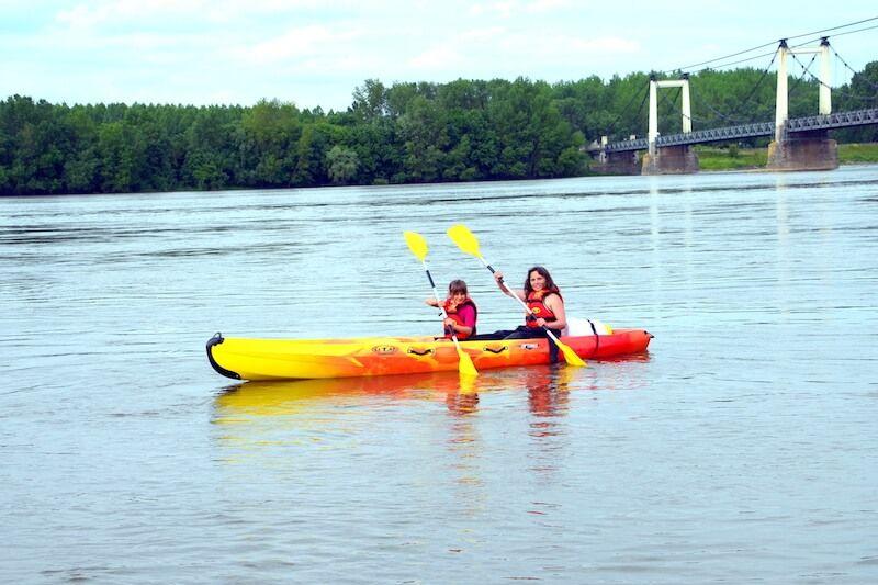 Location de Canoë Kayak à Montjean-sur-Loire