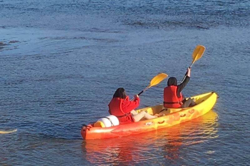 Mini bivouac (canoe kayak et bateau traditionnel de loire) de l ile de chalonnes sur Loire au Fresne sur Loire en passant par Montjean sur loire et Ingrandes sur loire
