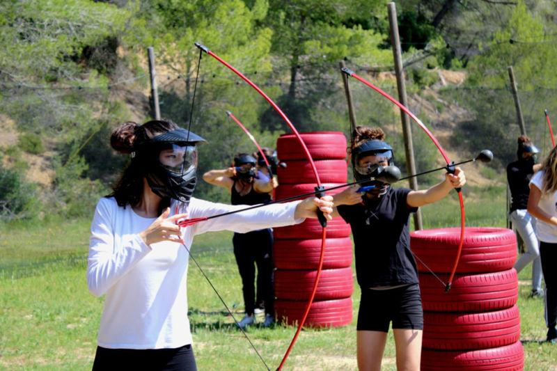 Archery tag anniversaire