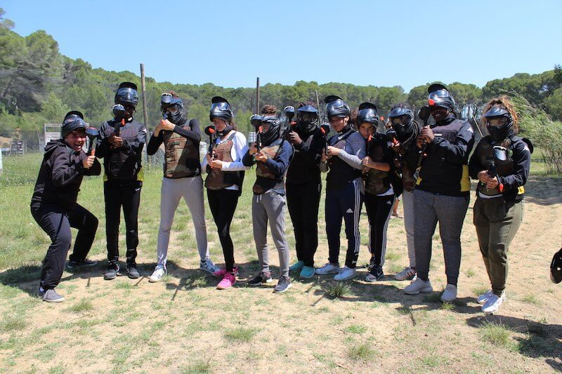 Paintball EVG - EVJF
