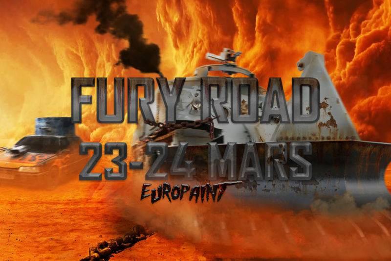 Méga Game FURY ROAD 23 et 24 Mars 2019 [COMPLET]