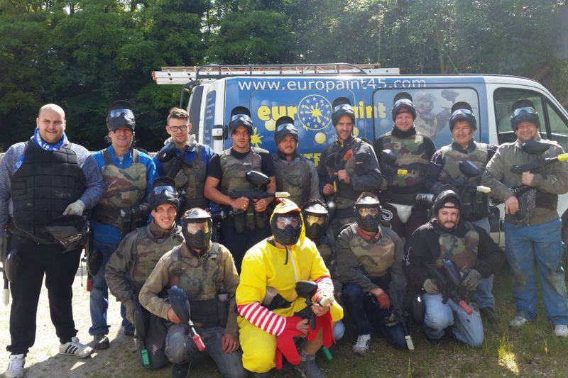 Paintball Adulte à Rouvres-saint-jean - Ile de France