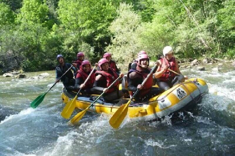 Rafting initiation : Saint Georges Gorges