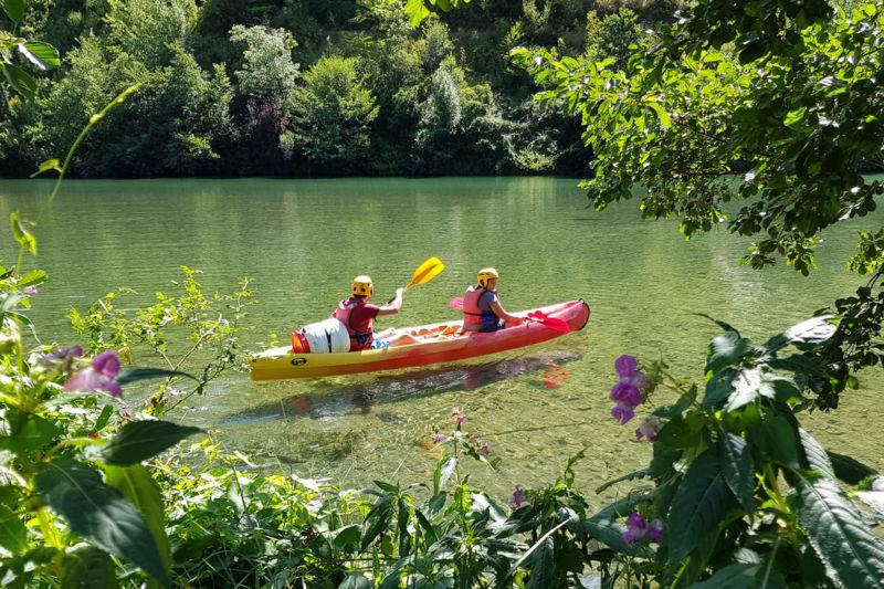 Les gorges du tarn en canoë - départ le rozier - 2h-7km