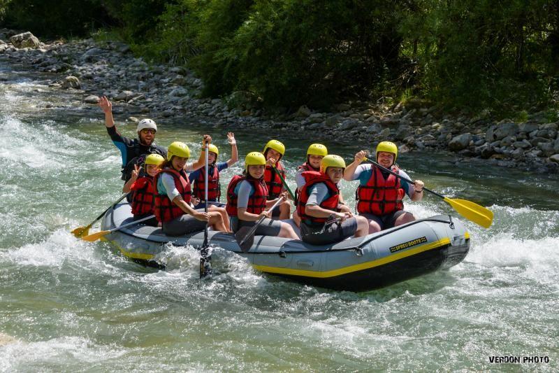 Rafting découverte | Le baptême
