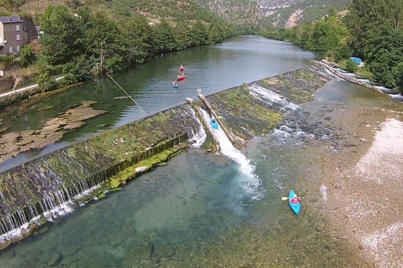 Descente en canoë sur 2 jours dans les Gorges du Tarn