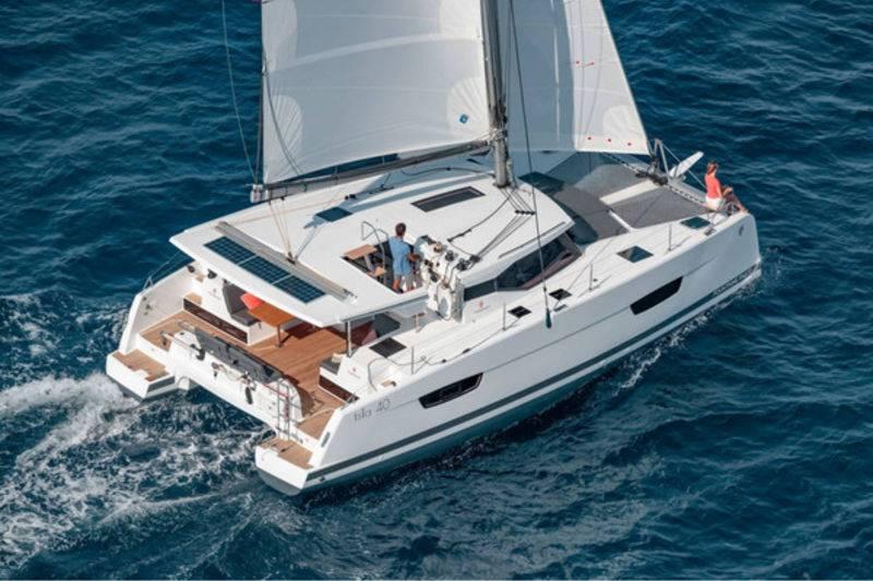 Croisière en catamaran à voiles vers l'Espagne