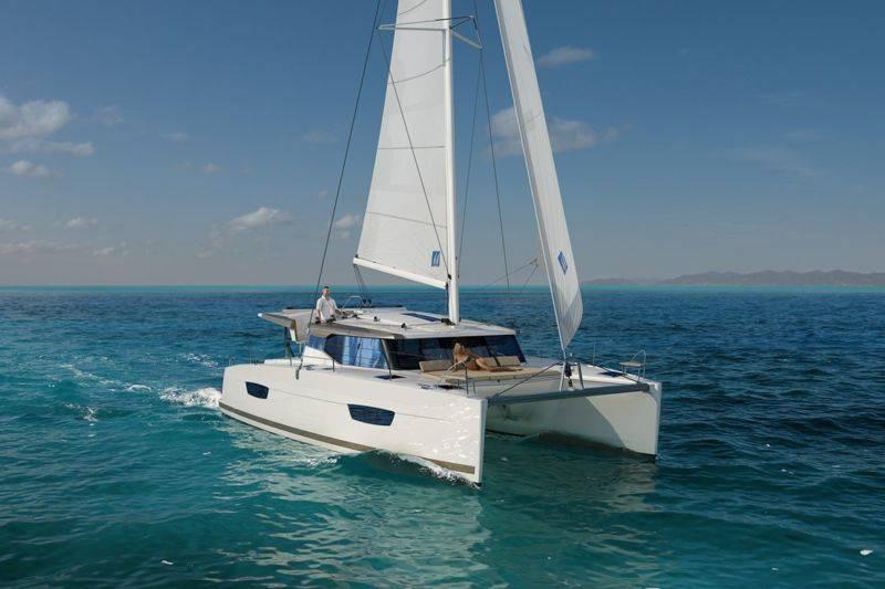 Sortie découverte en catamaran à voiles depuis Capbreton