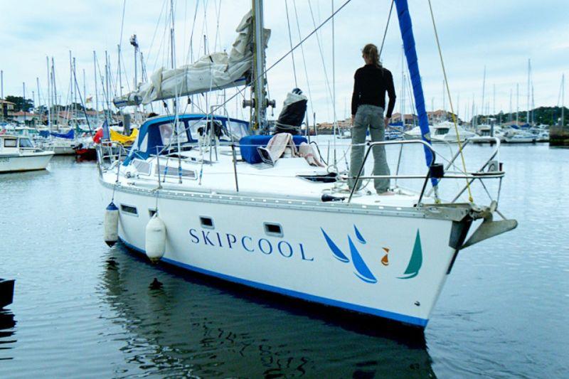 Croisière en voilier de 12m avec skipper vers l'Espagne