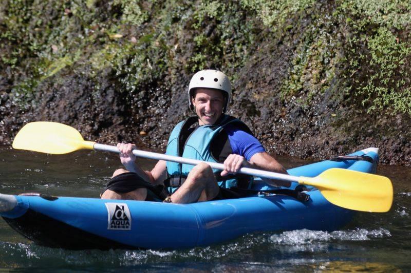 Kayak (air boat), parcours découverte, demi-journée