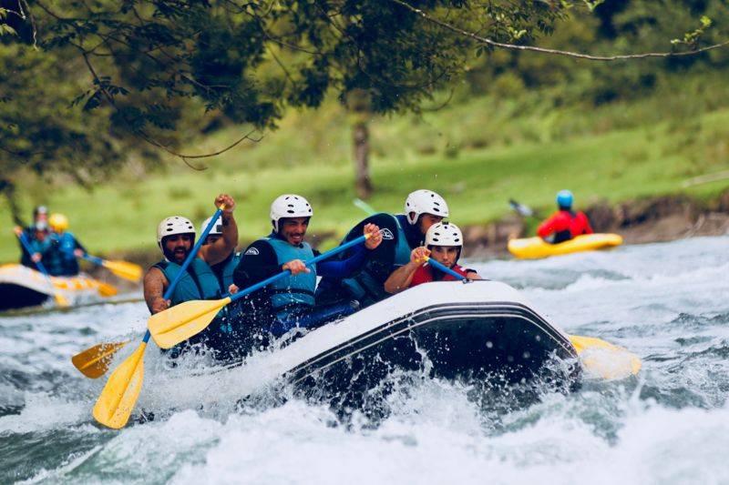 Mini-Raft, journée complète