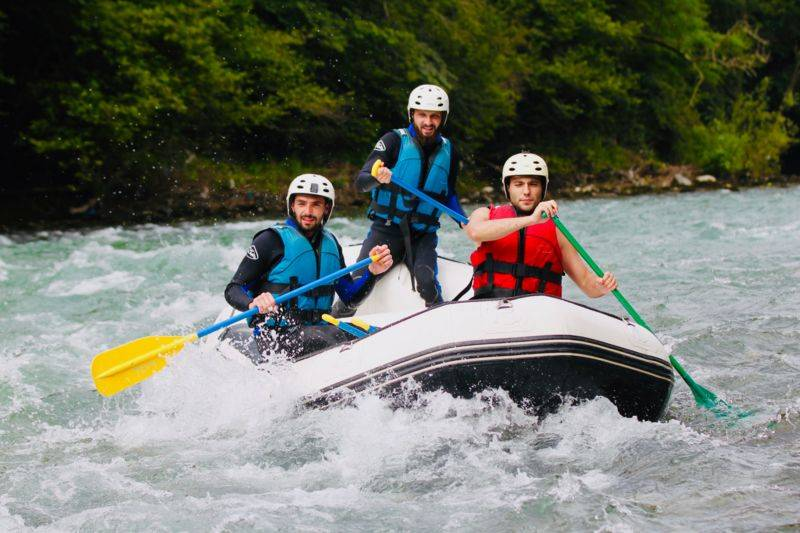 Mini-Raft, parcours découverte, demi-journée