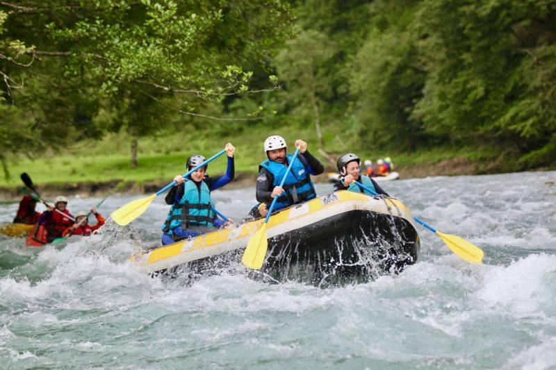 Mini-Raft, parcours sensations, demi-journée