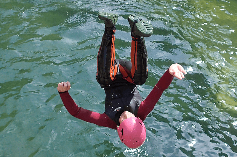 Canyoning dans les gorges de Galamus