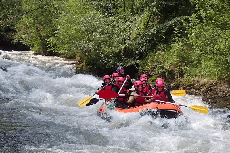 Rafting integral : Saint George Gorges and Pierre Lys Gorges